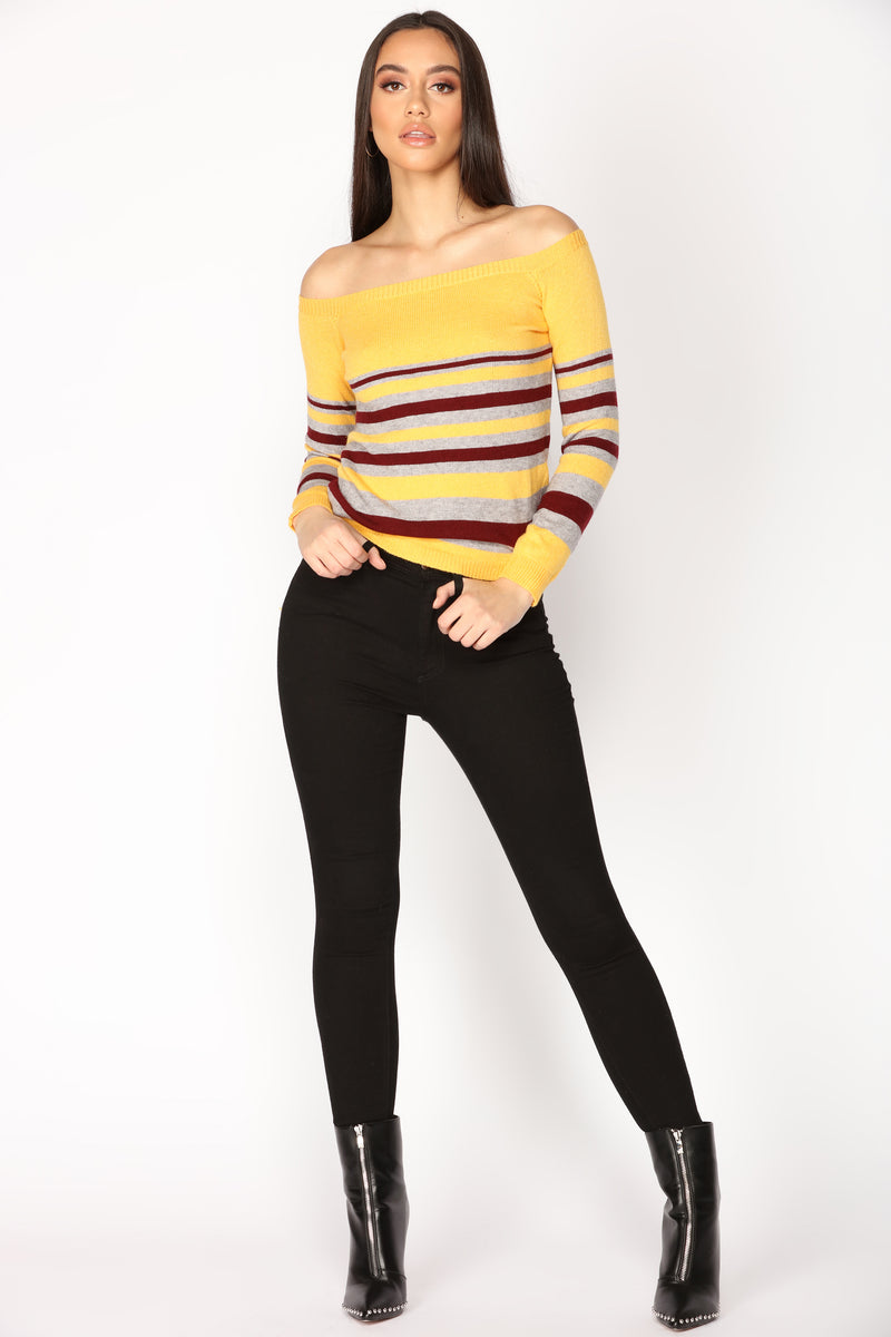Everyday Vibes Sweater - Mustard