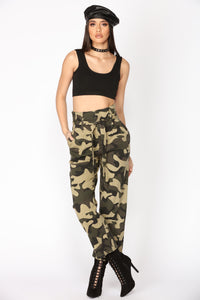 Cadet Kartney Camo Pants - Camo