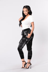 Paper Doll Pants - Black Angle 6