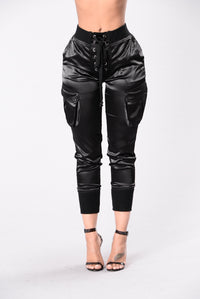 Paper Doll Pants - Black Angle 1
