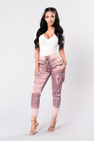 Paper Doll Pants - Blush