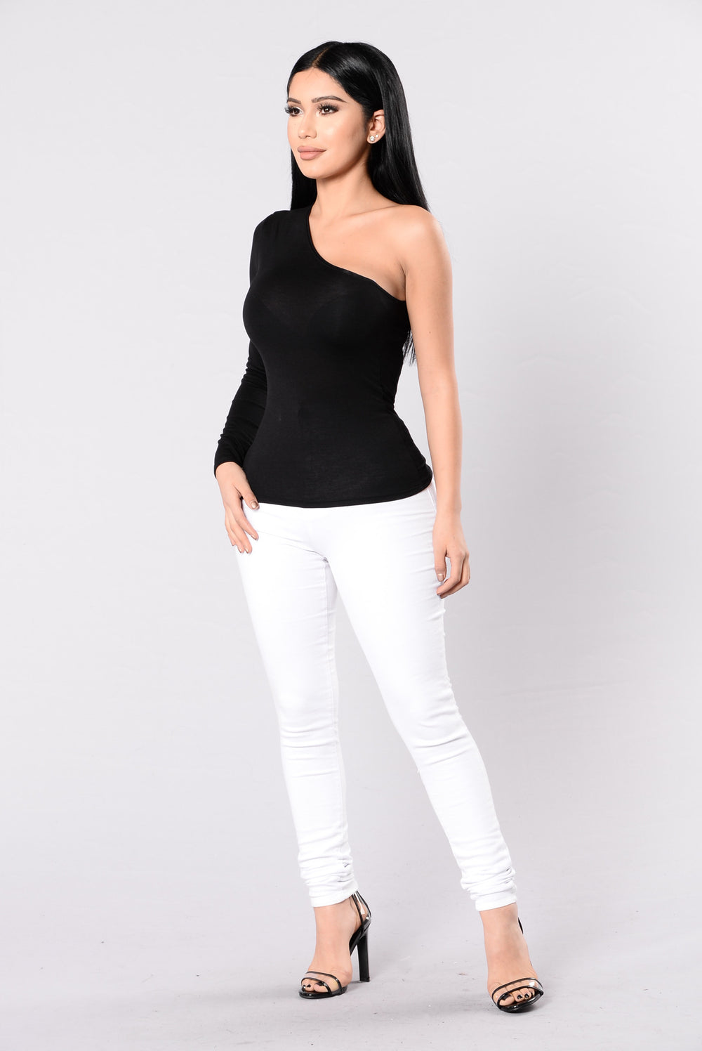 Picture This Top - Black