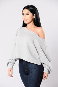 Spotless Mind Top - Heather Grey