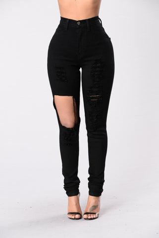 Fade Away Jeans - Black