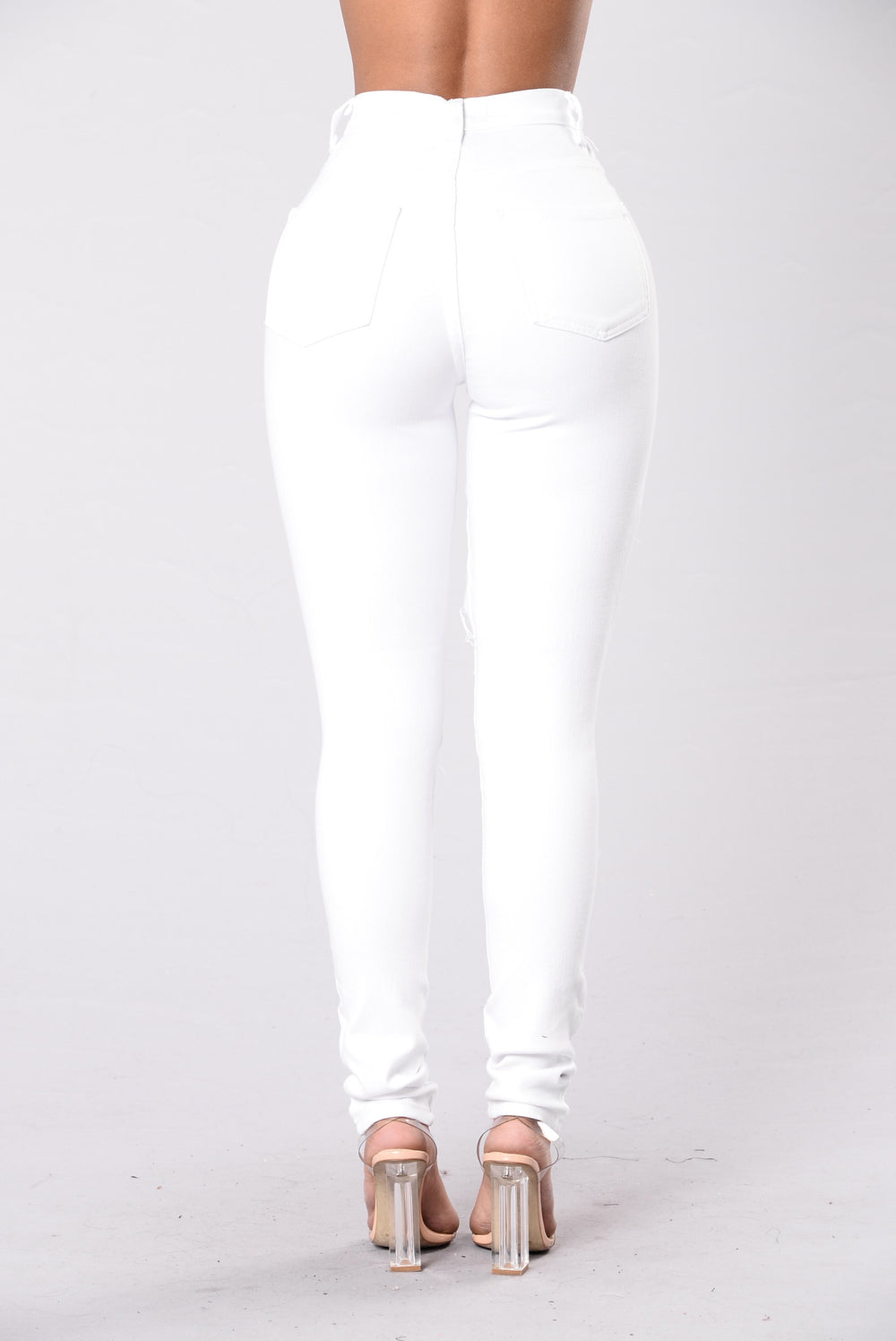 Fade Away Jeans - White