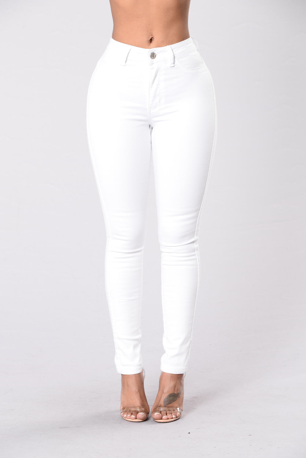 What's Mine Is Yours Jeans - White