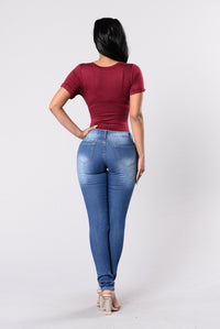 Dream On Jeans - Medium Wash Angle 5