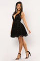 Maise Tulle Dress - Black