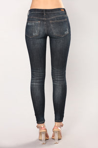 Infatuated Skinny Jeans - Dark Angle 6