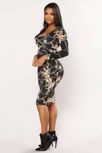 Mythical Creature Dress - Black
