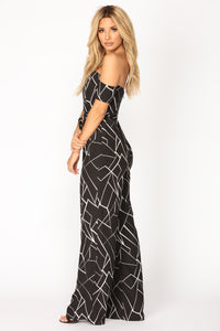Out Of Proportion Jumpsuit - Black