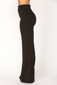 Clarissa High Rise Pants - Black