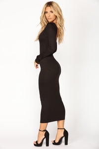Carin Dress - Black