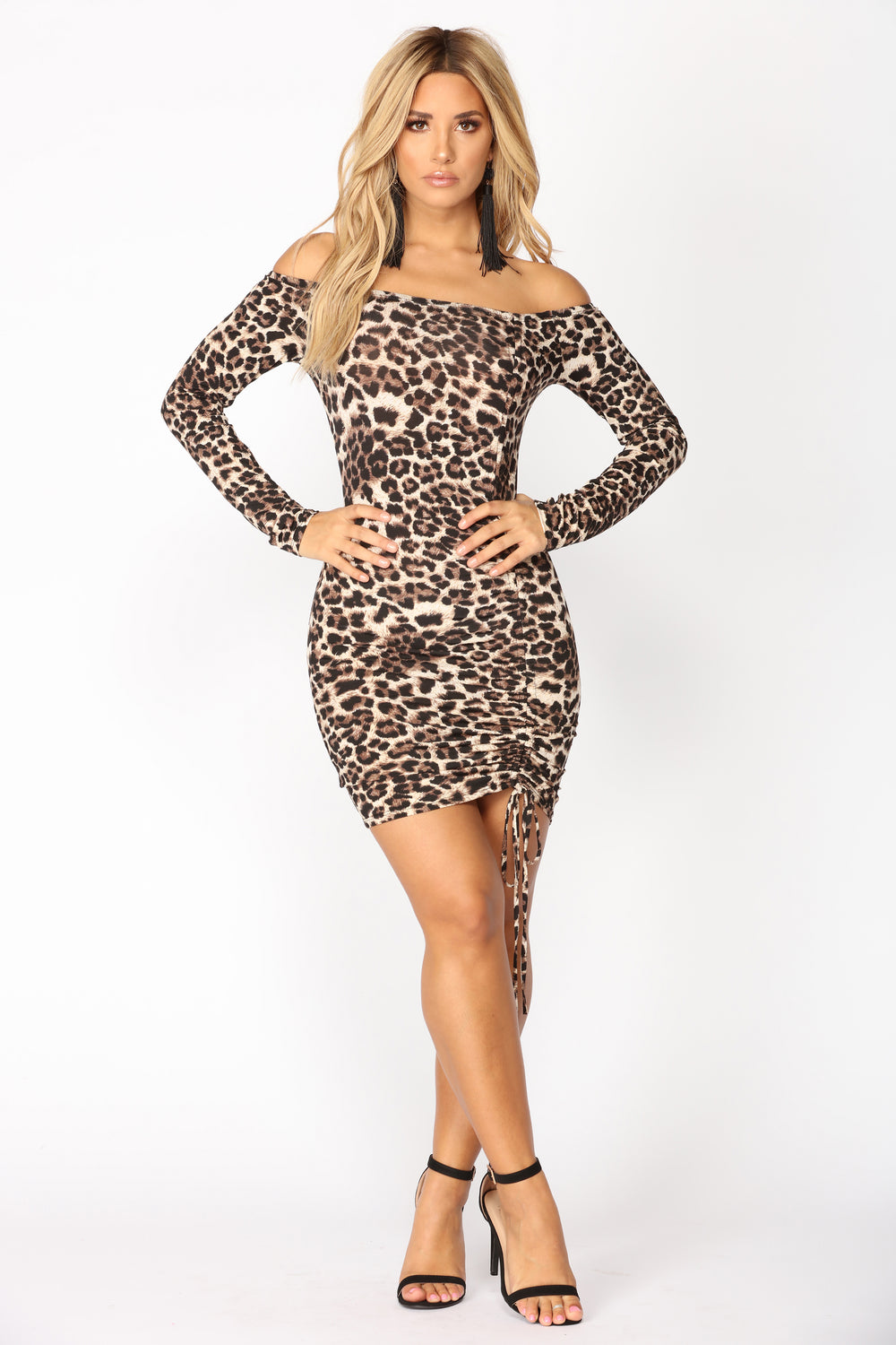 Year Of The Leopard Dress - Leopard