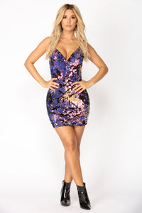 Paint The Town Dress - Multi