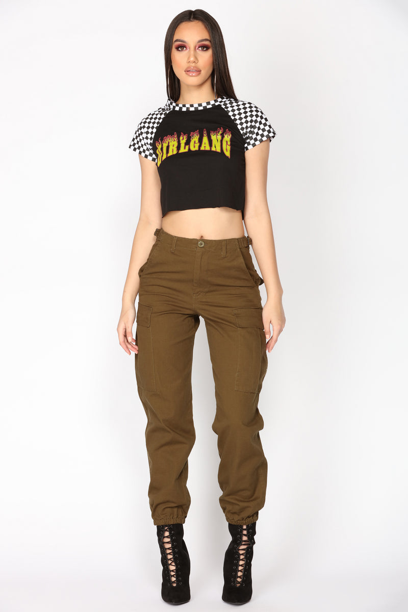 Ruff It Up Pants - Olive