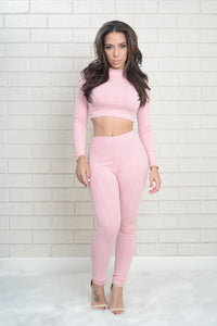 Wayfarer Leggings - Rose Angle 1
