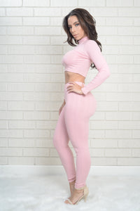 Wayfarer Leggings - Rose Angle 4