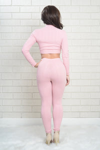 Wayfarer Leggings - Rose Angle 3
