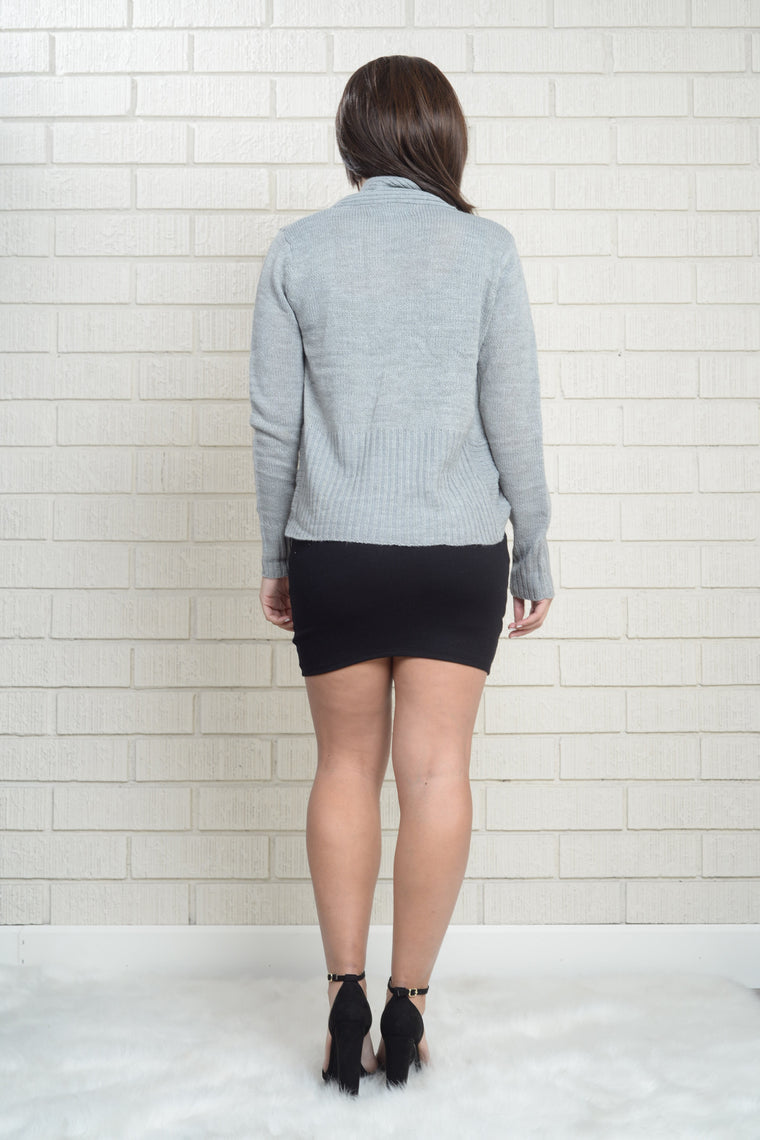 Liliana Cardigan - Grey
