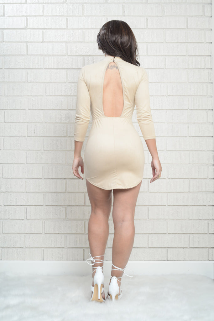Milkshake Dress - Taupe