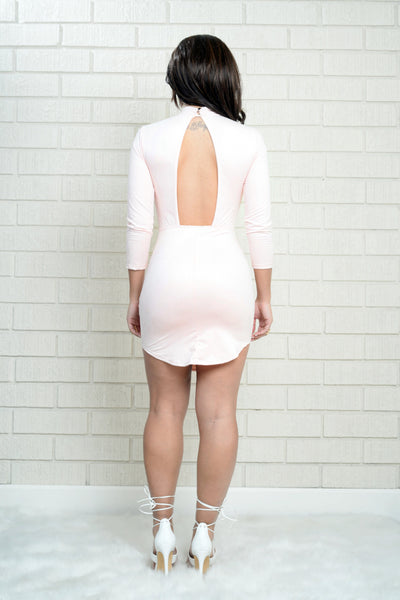 Milkshake Dress - Blush