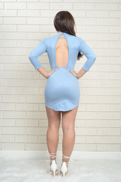 Milkshake Dress - Light Blue