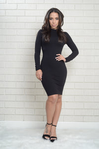 Pamela Dress - Black Angle 4
