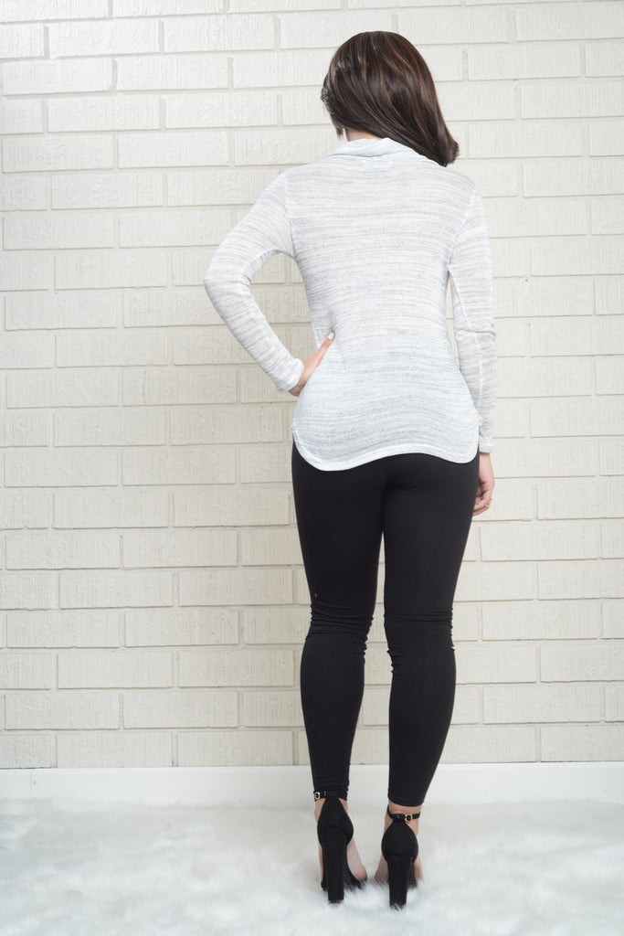 Sandy Sweater - Light Grey