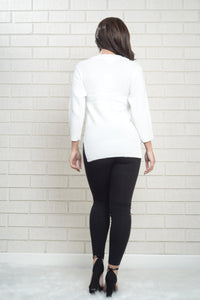 Phoebe Sweater - White