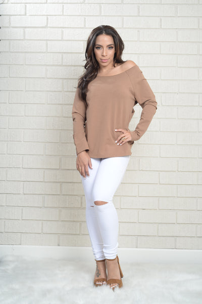 American Pie Top - Taupe