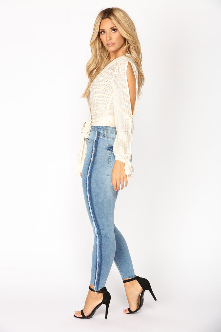 Belini Ankle Jeans - Light Blue Wash