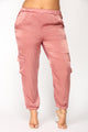 Pretty Fly Joggers - Mauve