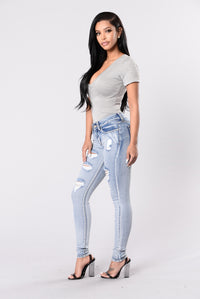 Flexicution Jeans - Medium Blue