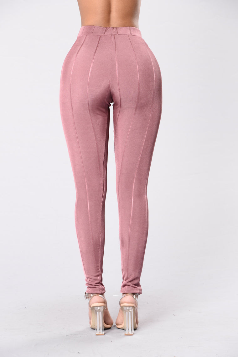 Simply Stylish Leggings - Mauve