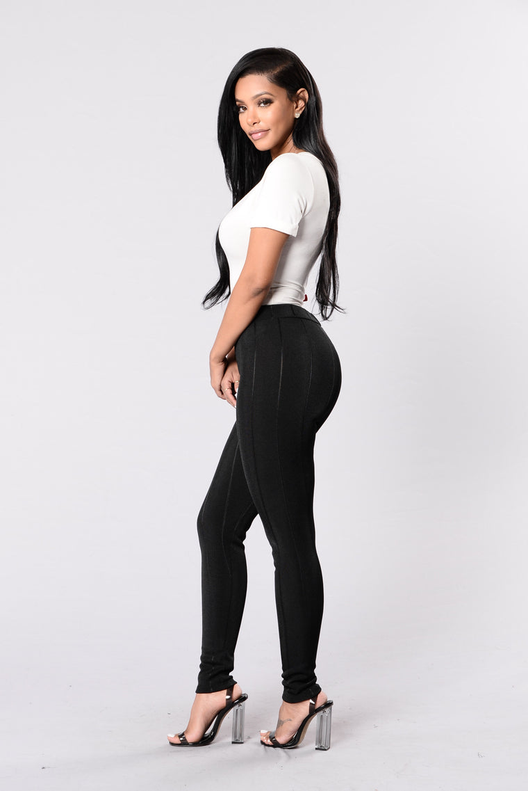 Simply Stylish Leggings - Black