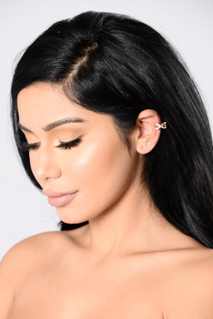 X It Out Ear Cuff - Gold