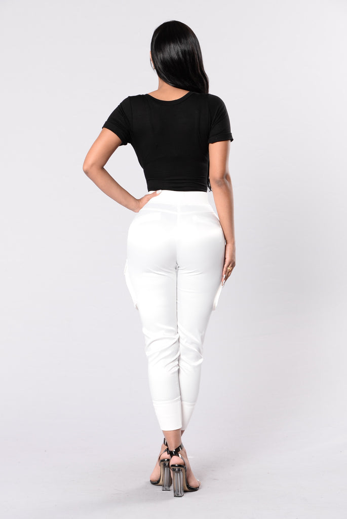 Paper Doll Pants - White