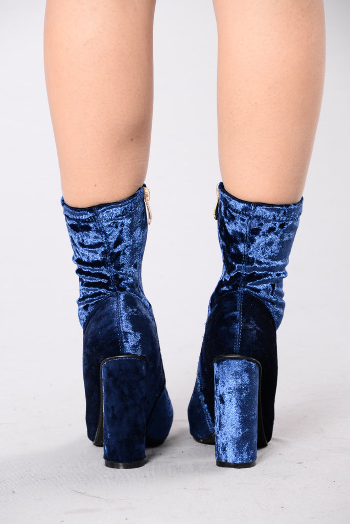 I Came And Crushed You Boot - Royal Blue
