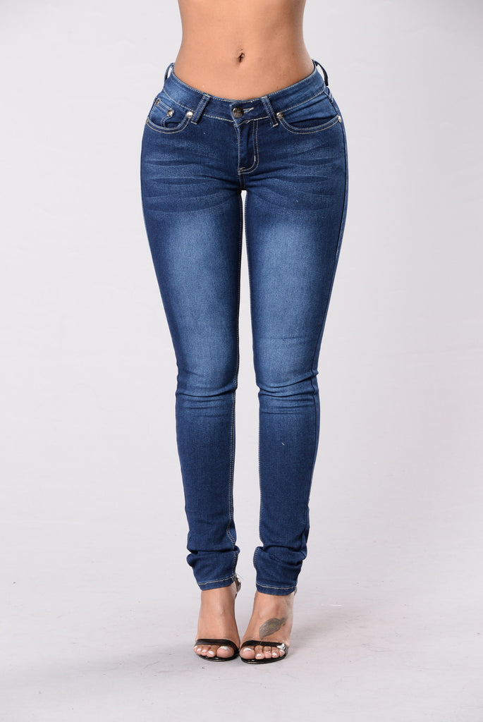 Love For You Jeans - Dark Blue