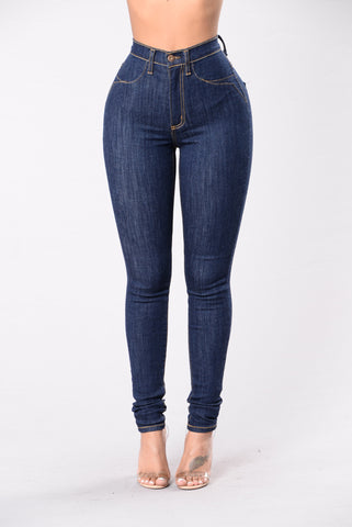 On The Low Jeans - Indigo