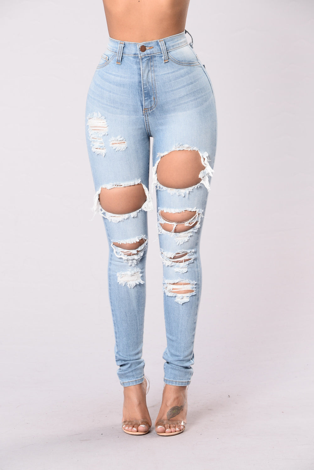 Forever Now Jeans - Light Wash