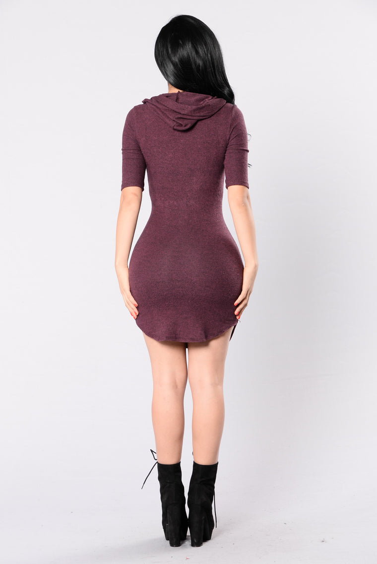 Make It Work Dress - Wine