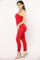 Amiee Jumpsuit - Red