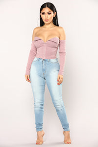 Alsen Top - Mauve