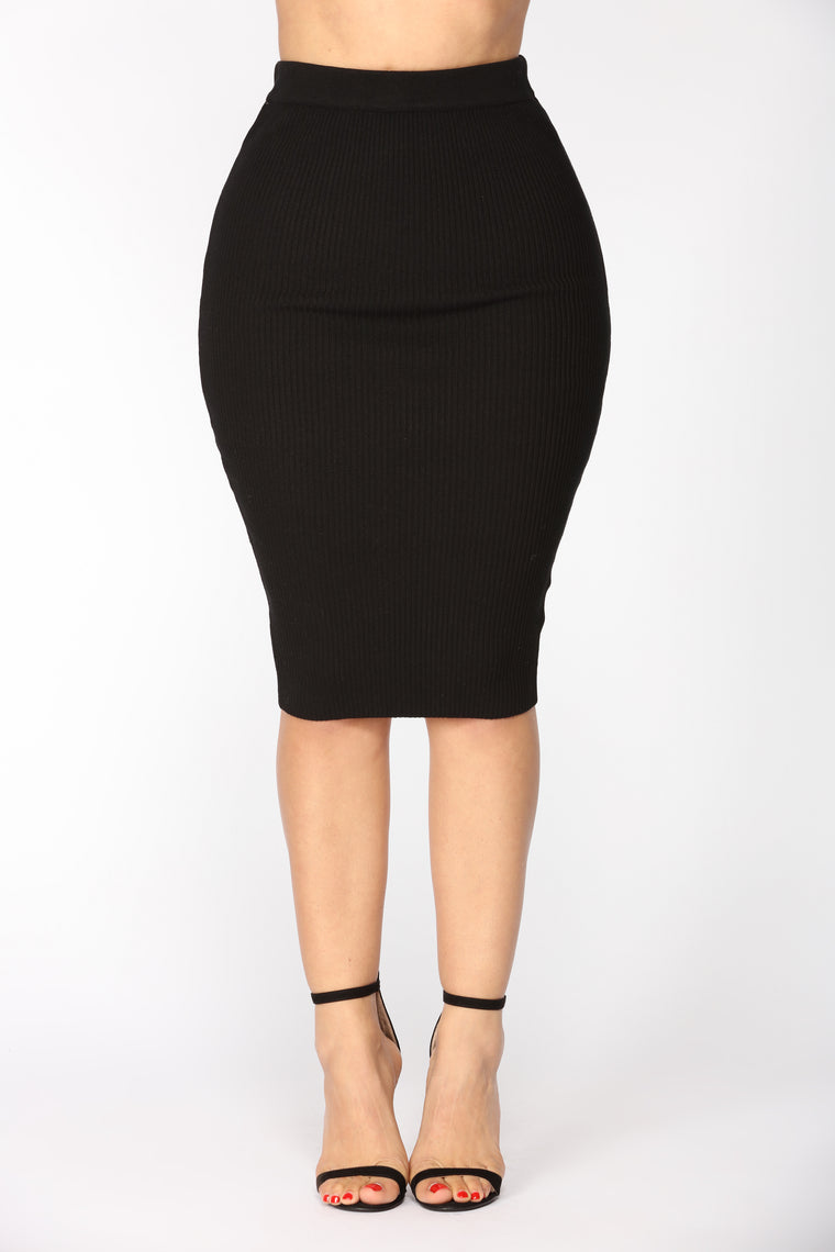 Bad Seed Skirt Set - Black