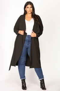 Dignified Darling Jacket - Black Angle 1
