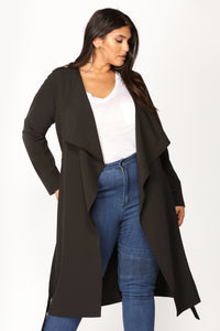Dignified Darling Jacket - Black Angle 2