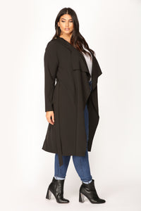 Dignified Darling Jacket - Black Angle 4