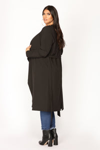 Dignified Darling Jacket - Black Angle 3